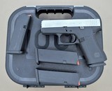 GLOCK G43X 9MM WITH 4 MAGS, NIGHT SIGHTS IWB HOLSTER AND MATCHING BOX **SOLD** - 1 of 20