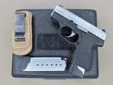 KAHR PM9 9MM WITH 2 EXTRA MAGS, DON HUME MAG CARRIER AND BOX - 1 of 13