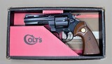 COLT PYTHON WITH BOX AND MANUAL .357 MANUFACTURED IN 1966 - 2 of 14