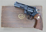COLT PYTHON WITH BOX AND MANUAL .357 MANUFACTURED IN 1966