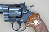 COLT PYTHON WITH BOX AND MANUAL .357 MANUFACTURED IN 1966 - 7 of 14