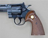 COLT PYTHON WITH BOX AND MANUAL .357 MANUFACTURED IN 1966 - 4 of 14