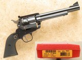 Ruger Limited Edition Flat Top New Model Blackhawk, Cal. .41 Magnum, Very Rare with only 300 Manufactured