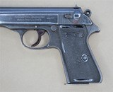 WALTHER PP RJ CHAMBERED IN 7.65mm MANUFACTURED IN 1944**SOLD** - 6 of 17