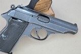 WALTHER PP RJ CHAMBERED IN 7.65mm MANUFACTURED IN 1944**SOLD** - 8 of 17