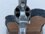 "1860's Civil War Period L.W. Pond Single Action Pocket/Belt Revolver in .32 Rimfire** Rare ""Manuf'd for Smith & Wesson"" Model ** - 15 of 25"