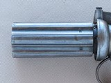1840's Vintage British .40 Caliber Pepperbox Percussion Revolver** Beautiful Original Pepperbox In Very Fine Condition ** - 4 of 25