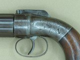 Circa 1856 Manhattan Firearms Co. 6-Barrel Double-Action Pepperbox in .28 Caliber** 100% Original & Fully Operational ** - 3 of 24