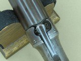 Circa 1856 Manhattan Firearms Co. 6-Barrel Double-Action Pepperbox in .28 Caliber** 100% Original & Fully Operational ** - 20 of 24