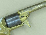Circa 1864 Moore's Patent Firearms Company Factory Engraved & Gold Washed Front-Loading Revolver w/ Ivory Grips ON HOLD - 19 of 25
