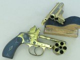Antique Merwin Hulbert Medium Double Action Revolver w/ 3 Barrels in .38 S&W