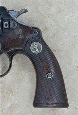 COLT POLICE POSITIVE .38 SPECIAL MANUFACTURED IN 1928 ISSUED TO WESTCHESTER COUNTY POLICE NO.42 SOLD - 2 of 17