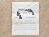 Smith & Wesson Registered .357 Magnum, Beautiful in Box, pre-Model 27 - 16 of 21