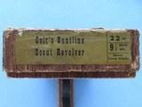 1961 Vintage Colt Buntline Scout .22LR Revolver w/ Original Box** Beautiful All-Original Example ** SOLD - 2 of 25
