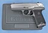 RUGER P94 40 S&W FIRST YEAR PRODUCTION WITH BOX, EXTRA MAGAZINE AND PAPERWORK**SOLD**