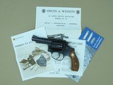 "1977 Smith & Wesson 3"" Model 36-1 Chief's Special .38 Spl. Revolver w/ Original Box, Manuals, Etc.* Minty All-Original Gun! * - 3 of 25"