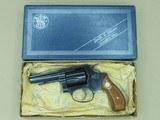 "1977 Smith & Wesson 3"" Model 36-1 Chief's Special .38 Spl. Revolver w/ Original Box, Manuals, Etc.* Minty All-Original Gun! * - 1 of 25"