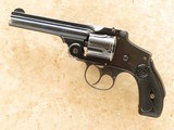 smith & wesson .38 safety hammerless fourth model, cal .38 s&w