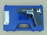 "1993 Smith & Wesson 3.5"" Model 3566 Performance Center Pistol in .356 TSW w/ Original Box, Etc. ** MINTY & Rare 1 of 200 Mfg.!! ** SOLD"