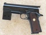 Don Nygord Custom Colt 1911 National Match, Cal. 45 ACP, 1967 Vintage
