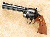 Colt Python, Cal. .357 Magnum, 1982 Vintage, 6 Inch Barrel
