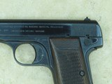 WW2 Nazi Germany Occupation FN Browning Model 1922 Pistol in .32 ACP** ALL-ORIGINAL & Matching **SOLD** - 3 of 21