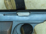 WW2 Nazi Germany Occupation FN Browning Model 1922 Pistol in .32 ACP** ALL-ORIGINAL & Matching **SOLD** - 21 of 21