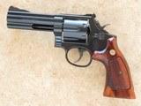 Smith & Wesson Model 586 Distinguished Combat Magnum, Cal. .357 Magnum, 4 Inch Barrel SOLD - 1 of 9
