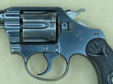 """1924 Vintage Colt 1st Issue Police Positive Revolver in .32 New Police/.32 S&W Long** Scarce 2.5"""" Inch All-Original Colt ** SOLD - 3 of 25"""