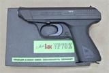 HK VP70 MINT AND UNFIRED WITH BOX AND ALL PAPERWORK, EXTRA MAGAZINE, 9MM MANUFACTURED 1981 SOLD
