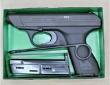 HK VP70 MINT AND UNFIRED WITH BOX AND ALL PAPERWORK, EXTRA MAGAZINE, 9MM MANUFACTURED 1981 SOLD - 13 of 16