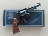 1962 Smith & Wesson Military & Police Model 10-5 .38 Special Revolver w/ Original Box, Etc.* PRISTINE Example ** SOLD - 1 of 25