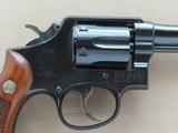 1962 Smith & Wesson Military & Police Model 10-5 .38 Special Revolver w/ Original Box, Etc.* PRISTINE Example ** SOLD - 4 of 25