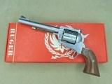 1979 Ruger New Model Blackhawk Stainless .357 Magnum Revolver w/ Original Box, Manual, & Warranty Card** Lightly-Used Original ** SOLD
