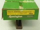 1979 Remington 870 Wingmaster 16 Ga. Shotgun w/ Box & Manual** FLAT MINT & NEVER EVEN PUT TOGETHER! ** SOLD - 3 of 25