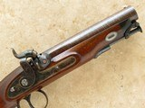 Sharp Maidstone Gentleman Pistols, Cased, .65 Cal. Percussion, Beautiful Condition - 5 of 26