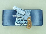 1982 Smith & Wesson Model 60 Stainless Chiefs Special .38 Spl. Revolver w/ Original Box, Etc. * Appears Unfired! *