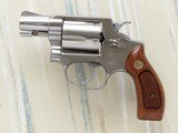 Smith & Wesson Model 60, Cal. .38 Special, 2 Inch Pinned Barrel, Stainless Steel