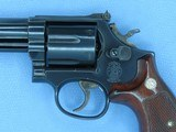 """1983 Smith & Wesson Model 586 No-Dash .357 Magnum Revolver w/ 6"""" Barrel** Handsome & Very Lightly Used Example ** SOLD - 3 of 25"""