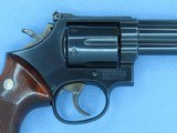 """1983 Smith & Wesson Model 586 No-Dash .357 Magnum Revolver w/ 6"""" Barrel** Handsome & Very Lightly Used Example ** SOLD - 7 of 25"""