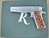 REMINGTON R1911-A1 .45ACP WITH MATCHING BOX EXTRA MAGS AND GRIP SET **MINT**