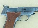 1968-1981 Vintage High Standard Model 107 Military Supermatic Citation .22 Pistol** MINT Example! **SALE PENDING** - 8 of 25
