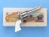 Cimarron General George Patton Laser-Engraved Frontier Single Action Revolver, Cal. .45 LC, NOS - 1 of 11