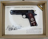 COLT WW1 CHATEAU THIERRY COMMEMORATIVE WITH CASE UNFIRED!! MINT 45 ACP