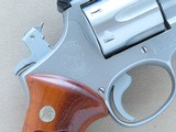 1975 Smith & Wesson Model 66 Stainless Combat Magnum Revolver in .357 Magnum w/ Original Box, Manual, Tool Kit, Etc. * FACTORY TEST FIRED ONLY! * - 24 of 25