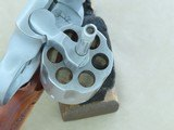 1975 Smith & Wesson Model 66 Stainless Combat Magnum Revolver in .357 Magnum w/ Original Box, Manual, Tool Kit, Etc. * FACTORY TEST FIRED ONLY! * - 22 of 25