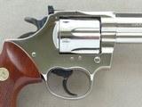 "1980 Colt Trooper Mk.III .22 LR Revolver w/ 8"" Barrel & Nickel Finish** BEAUTIFUL All-Original Example! ** - 9 of 24"