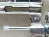 "1980 Colt Trooper Mk.III .22 LR Revolver w/ 8"" Barrel & Nickel Finish** BEAUTIFUL All-Original Example! ** - 21 of 24"