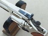 "1980 Colt Trooper Mk.III .22 LR Revolver w/ 8"" Barrel & Nickel Finish** BEAUTIFUL All-Original Example! ** - 12 of 24"
