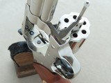 "1980 Colt Trooper Mk.III .22 LR Revolver w/ 8"" Barrel & Nickel Finish** BEAUTIFUL All-Original Example! ** - 23 of 24"